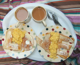 A breakfast I cooked for Jodie on 1-8-2009